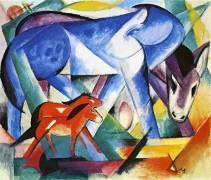The First Animals (Franz Marc) - Muzeo.com