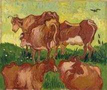 Cows (Van Gogh Vincent) - Muzeo.com