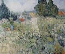 Miss Gachet in her garden at Auvers sur Oise (Van Gogh Vincent) - Muzeo.com