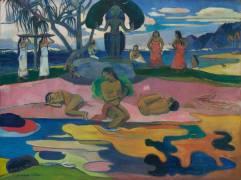 Mahana Atua (Le jour de Dieu) (Gauguin Paul) - Muzeo.com