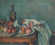 Nature morte aux oignons (Cézanne Paul) - Muzeo.com