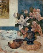 Nature morte à la mandoline (Paul Gauguin) - Muzeo.com