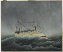 Navire dans la tempête (Le Douanier Rousseau) - Muzeo.com