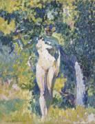 Nu dans un jardin (Cross Henri-Edmond) - Muzeo.com