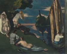 Pastorale ou Idylle (Cézanne Paul) - Muzeo.com