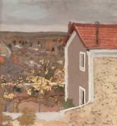 Paysage à l'Etang-la-Ville (Yvelines ) (Vuillard Edouard) - Muzeo.com
