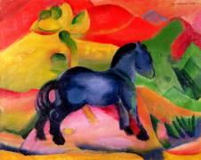 Little Blue Horse (Marc Franz) - Muzeo.com