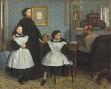 Portrait de famille, la famille Bellelli (Degas Edgar) - Muzeo.com