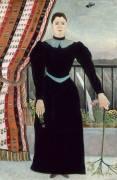 Portrait de femme (Le Douanier Rousseau) - Muzeo.com