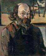 Portrait de l'artiste (Cézanne Paul) - Muzeo.com