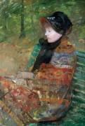 Portrait de Mademoiselle C. Lydia Cassatt (Mary Cassatt) - Muzeo.com
