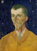Portrait of Eugene Boch (Van Gogh Vincent) - Muzeo.com
