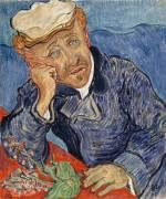 Portrait of Doctor Gachet (Derousse Blanche ,D'après Van...) - Muzeo.com