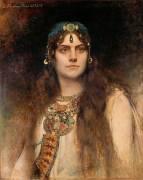 Rose Caron dans le rôle de Salambô (Bonnat Léon) - Muzeo.com