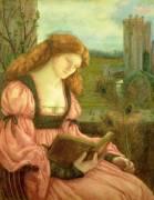 St. Barbara (Rossetti Dante Gabriel) - Muzeo.com