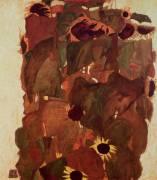 Sunflowers II (Egon Schiele) - Muzeo.com