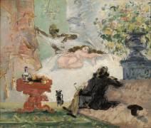 Une moderne Olympia (Paul Cézanne) - Muzeo.com