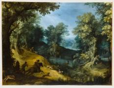 Chasse au cerf (Paul Bril) - Muzeo.com