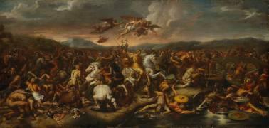 La bataille de Constantin (Raphaël (d'après)) - Muzeo.com