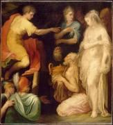 La Continence de Scipion (Nicolò dell'Abate) - Muzeo.com