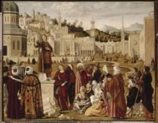 La Prédication de saint Etienne à Jérusalem (Vittore Carpaccio) - Muzeo.com