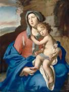 La Vierge à l'Enfant (Stanzione Massimo) - Muzeo.com