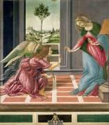 The Annunciation (Botticelli Sandro) - Muzeo.com