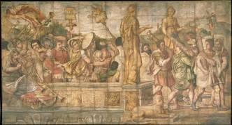 Les Licteurs et les Musiciens (Giulio Romano (d'après)) - Muzeo.com