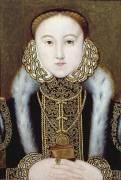 Portrait of Queen Elizabeth I (anonyme) - Muzeo.com