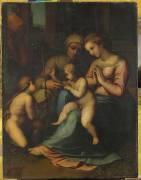 Sainte famille (Raphaël (dit) Sanzio...) - Muzeo.com