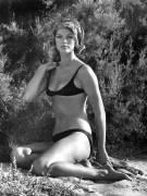 Anny Duperey on The Beach Saint-Tropez (anonyme) - Muzeo.com