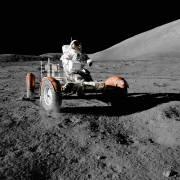 Driving on the moon (Nasa) - Muzeo.com