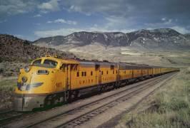 The 'City of Portland' Union Pacific train in 1956 (anonyme) - Muzeo.com