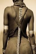 Ethiopia, Omo Delta - Young Dassanech girl (Warburton-Lee John) - Muzeo.com