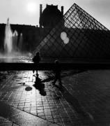 La pyramide du Louvre, Paris (Hardy Elise) - Muzeo.com