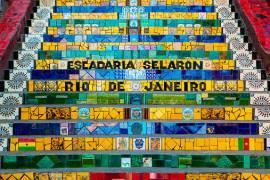 Selaron Stairs (Jan Cobb Photography Ltd) - Muzeo.com