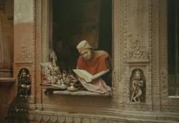 A Brahman of Benares explains his faith, India (Jules Gervais-Courtellemont) - Muzeo.com