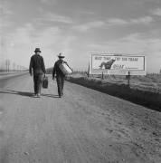 Toward Los Angeles, California (Dorothea Lange) - Muzeo.com