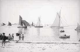 Bateau et bord de mer (anonyme) - Muzeo.com