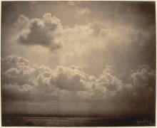 Marine, étude de nuages (Gustave Le Gray) - Muzeo.com