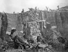 A Two Gun Battery during the Crimean War (Roger Fenton) - Muzeo.com