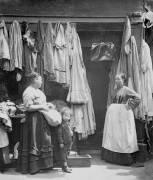 An Old Clothes Shop, Seven Dials (John Thomson) - Muzeo.com
