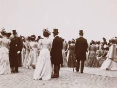 Champs de courses, personnages (Henri Lemoine) - Muzeo.com