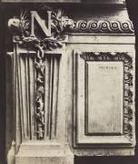 Decorative Element, New Louvre (Edouard Baldus) - Muzeo.com