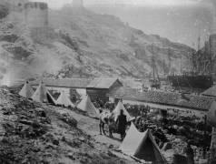 The Port at Balaklava during the Crimean War (Roger Fenton) - Muzeo.com