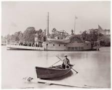 U.S. Gunboat (Timothy O'Sullivan) - Muzeo.com