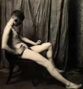 Nude Study of student Bill Duckett (Thomas Eakins) - Muzeo.com