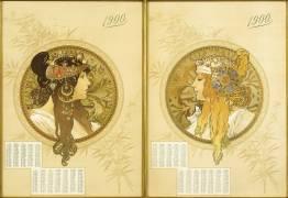 Byzantine Heads (Alfons Mucha) - Muzeo.com