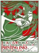 Art Nouveau poster depicting Pan (William Bradley) - Muzeo.com