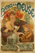 Meuse Beer (Alfons Mucha) - Muzeo.com